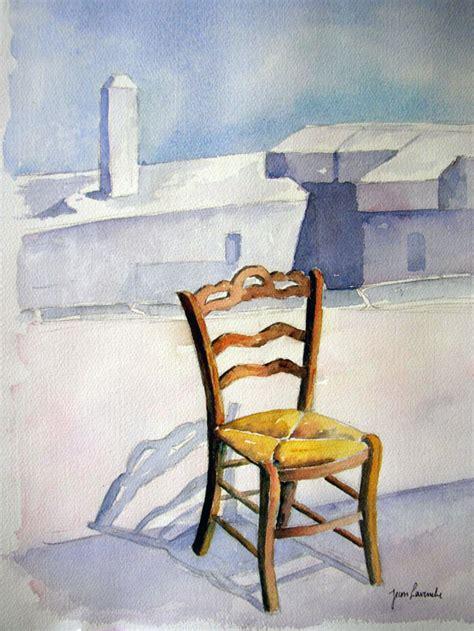 la chaise vide la chaise vide aquarelle de j lavernhe pour illustrer