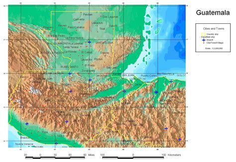 maps  guatemala map library maps   world