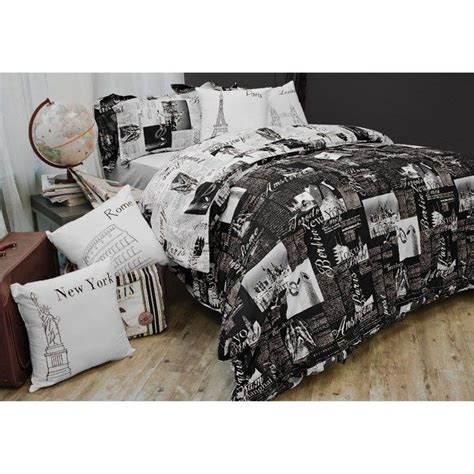 Bed Bath Beyond Duvet Cover by Passport Reversible Duvet Cover Set 100 Cotton Bed