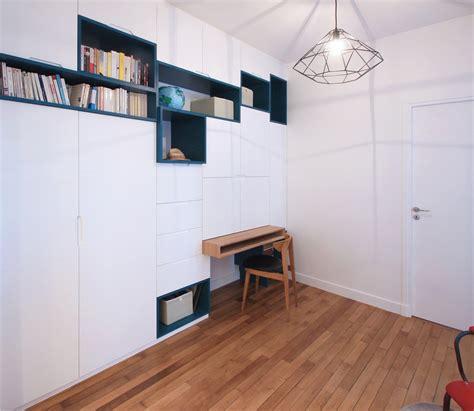 bureau multifonction un meuble sur mesure multifonction astucieux dressing