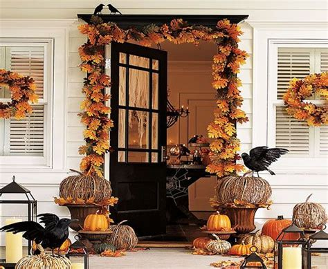 spooky front porch decorating ideas  halloween