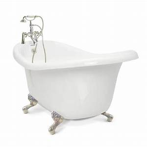 Shop American Bath Factory Chelsea 60 In White With