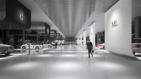 mercedes benz showroom design a masow