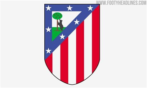Atletico madrid officially launch new crest as la liga club prepare to enter new era at wanda atletico madrid have launched the club's new crest ahead of new stadium move the rounded elements of the new crest are a gesture to the club's first badge Four Options: Will Nike Bring Back The Old 1947 Atletico ...