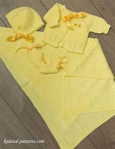 Newborn Layette Knitting Patterns Free