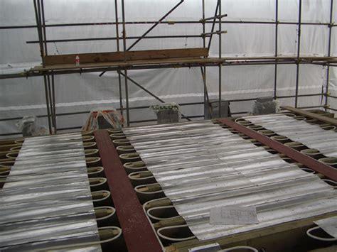 Wet Underfloor Heating Systems Between Joists   Carpet