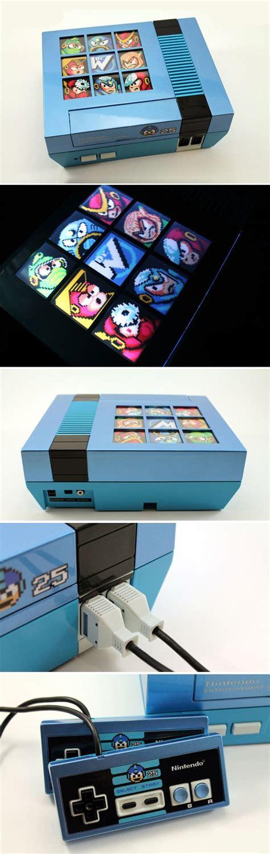 Mega Man Custom 25th Anniversary Mega Man Backlit Nes