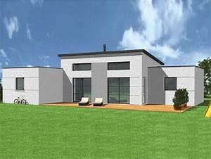 maison design plain pied awesome plan maison plain pied With site de plan de maison 11 terrasse