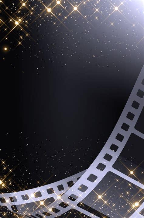 black film film cinema advertising poster background