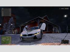 BMW i8 V 10 LS17 Farming Simulator 2017 mod, LS 2017