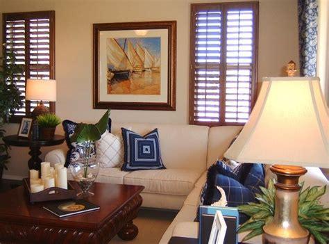 Nautical Themed Living Room