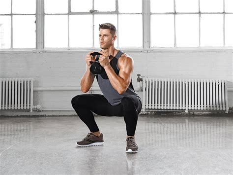 squat kettlebell workout squats types legs different leg minute abs body barbell exercises fitness variations muscular strength muscle goblet brute