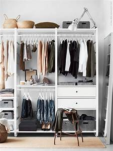 Ikea Offener Schrank : ikea closets to create a custom closet look apartment therapy ~ Watch28wear.com Haus und Dekorationen