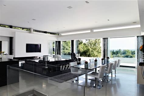 black  white interior design   home  wow style