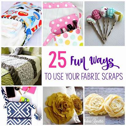 Fabric Scraps Things Sewing Scrap Projects Ways