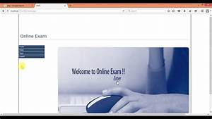 Online Examination System Project In Asp Net