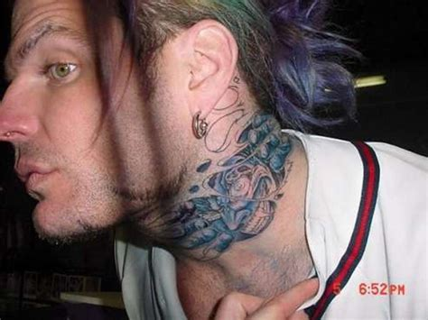 Neck Tattoos Pictures, Images  Page 10