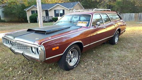 Charger Station Wagon by Station Wagon 1972 Dodge Coronet Crestwood Barn