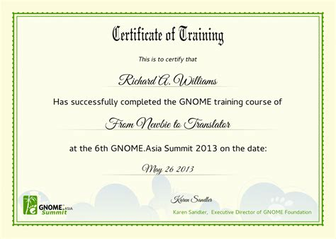 Traininb Certificate Template by Leadership Training Certificates Certificate Templates