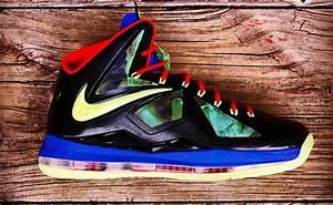"Nike LeBron X ""Man of Steel"" Custom   SBD"