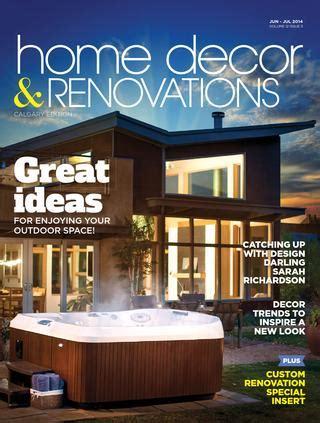 Calgary Home Decor & Renovations  Junjul 2014 By