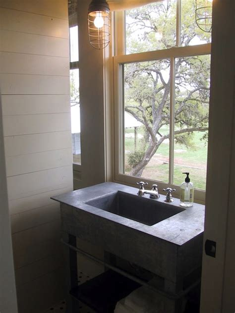 galvanized tub sink design ideas