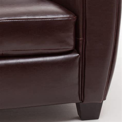 canape croute de cuir canapé 3 places convertible 2 fauteuils clubs