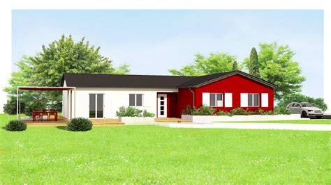 HD wallpapers maison moderne toit plat construction