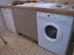 lave linge dans cuisine comment placer un lave vaisselle et un lave linge dans une cuisine