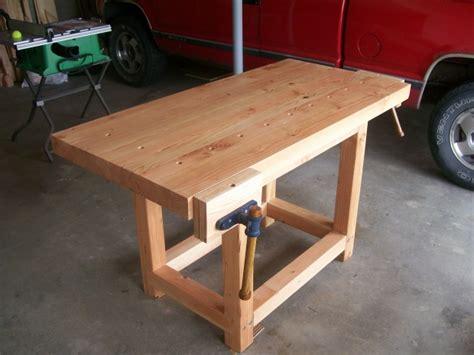 work bench woodworking talk woodworkers forum
