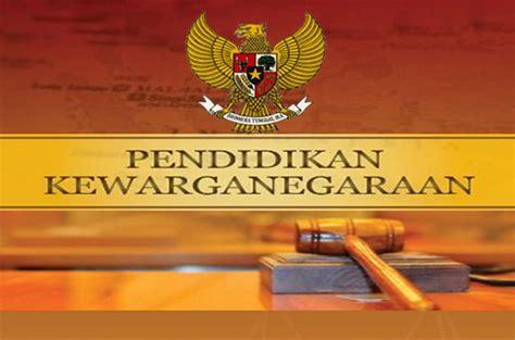 sejarah pendidikan kewarganegaraan indonesia