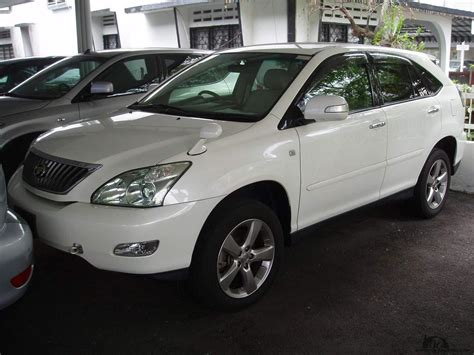 toyota harrier 2007 toyota harrier ii pictures information and specs