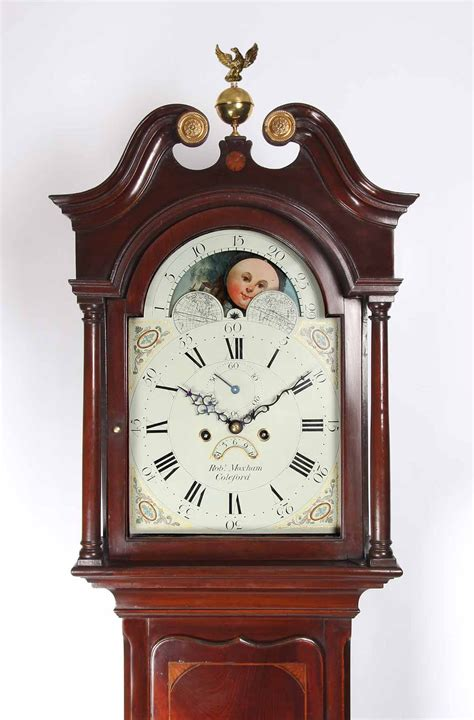 antiques atlas robert moxham longcase clock
