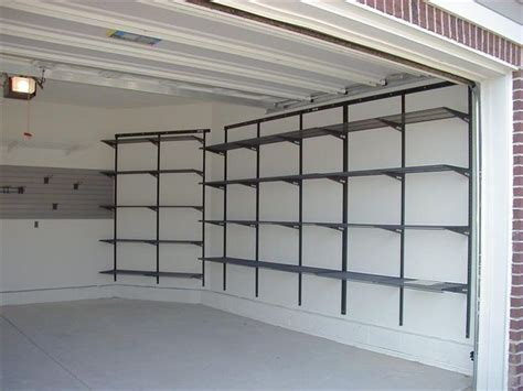 garage storage shelving systems 17 best images about garage on sports equipment garage door opener and shelves
