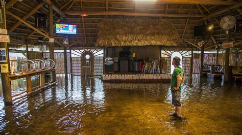 hermine bureau hermine floods coastal areas in florida before heading