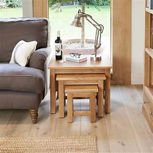 Nest Of Three Mobel Oak Coffee Tables Was 26500 Now 239