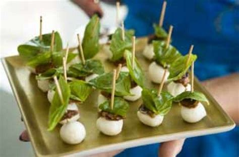 mini canape ideas savoury parmesan bites 50 and easy canapes easy