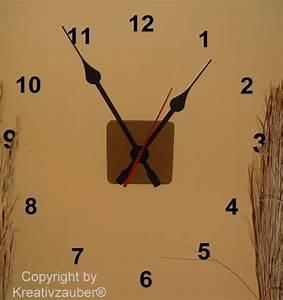 Uhrwerk Mit Zeiger Zum Basteln : uhrwerke mit extra langen zeigern in schwarz und wei kreativzauber ~ Eleganceandgraceweddings.com Haus und Dekorationen