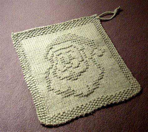 quick gifts knit christmas washcloths dishcloths free