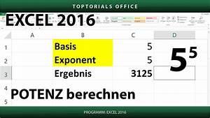 Steuerklasse 2 Berechnen : potenzen berechnen excel youtube ~ Themetempest.com Abrechnung
