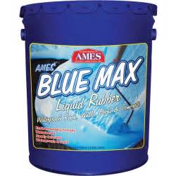 ames 174 blue max liquid rubber basement paint bmx5rg
