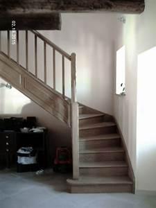 Escalier Quart Tournant Gauche : menuiserie maze escaliers ch ne fr ne sapin bois ~ Dailycaller-alerts.com Idées de Décoration