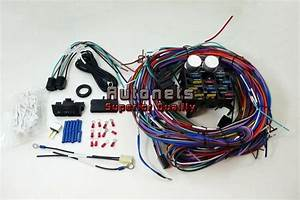 Universal Chevy Gm 12 Circuit Wire Harness Kit Street Hot