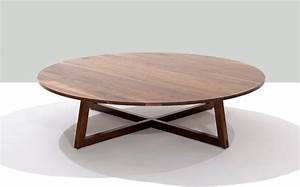 finn round coffee table contemporary coffee tables With modern circular coffee table