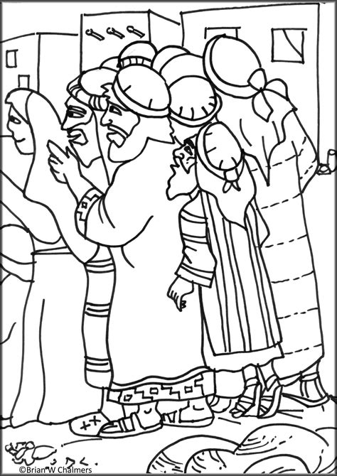 zacchaeus coloring page kids coloring home