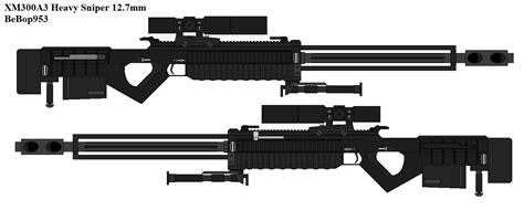 Xm300a3 Heavy Sniper By Bebop953 On Deviantart