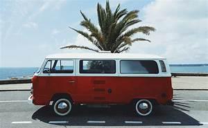 Volkswagen Concarneau : vw bus red france beach concarneau white palm trees wallpaper no 409848 ~ Gottalentnigeria.com Avis de Voitures