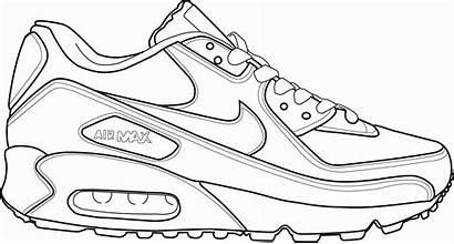 Coloring Jordan Nike Shoe Running Air Adidas