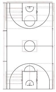 Basketball Court Line Marking