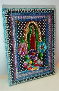 our lady of guadalupe mexican large wall art by thevirginrose With mexican wall art